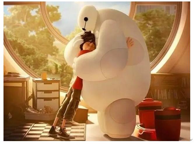 """""""大白""""的拥抱?"""
