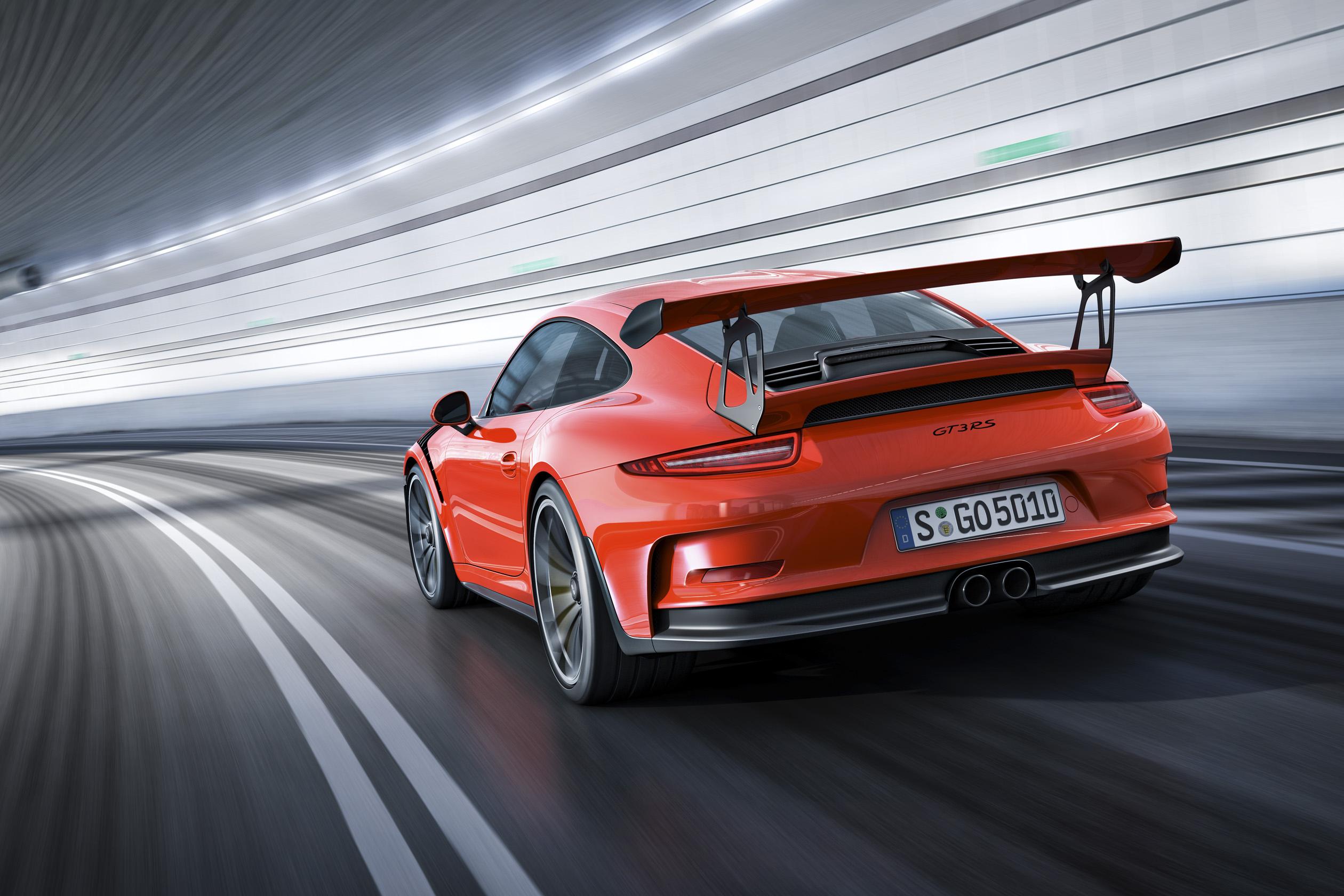 911_保时捷911gt3 rs报价最性能的赛道街跑